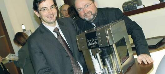 Handlerne bremser salget av kaffemaskiner