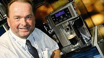 ENDELIG NORSK KAFFE fra en italiensk espressomaskin