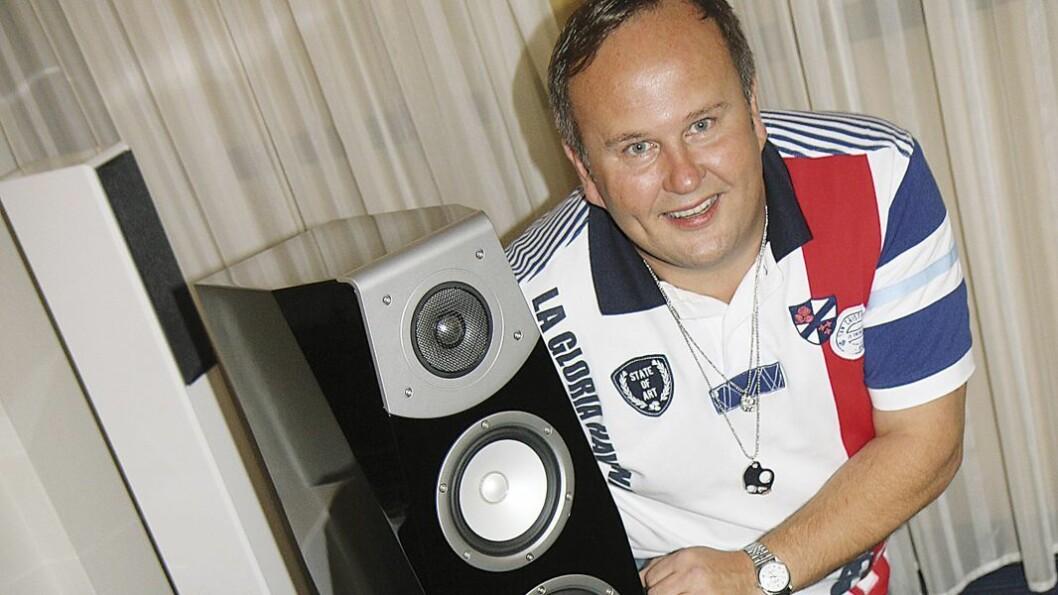 Richard Hauffen hos YamahaScandinavia AB.