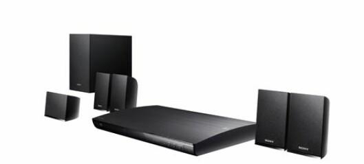 Sony hjemmekino BDP og BDV