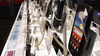 65 PROSENT VAR SMARTE TELEFONER