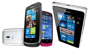 Nokia Lumia 610 og Lumia 900