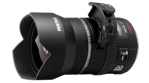 Pentax DA645 25mm F4AL [IF] SDM AW