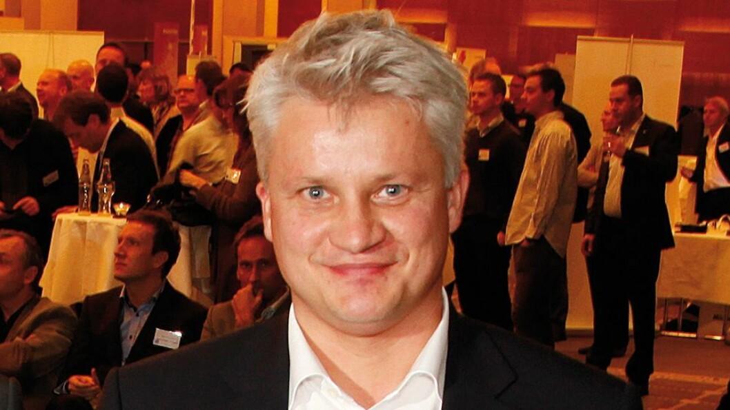 Ronny Blomseth fotografert under Årets julegaver. Foto: Tore Skaar.