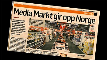 MEDIA MARKT PÅ IS I NORGE