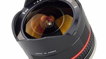 Samyang 8mm 1:2.8 Fish-eye CS
