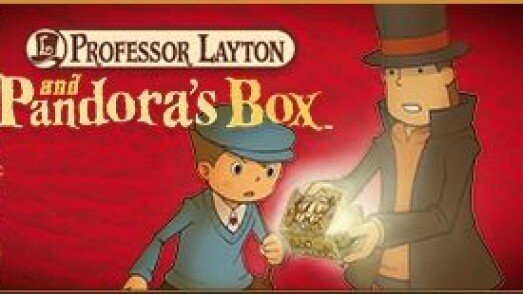 Nintendo 3DS Professor Layton and the Miracle Mask