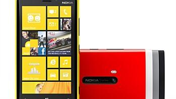Nokia Lumia 920 og Lumia 820