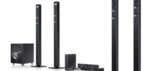 LG Cinema 3D Sound-serie