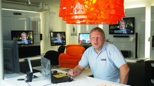 LOEWES SPYDSPISS LIGGER PÅ KONGSBERG
