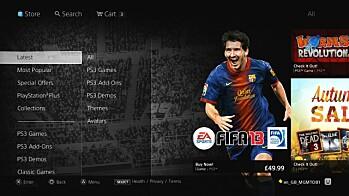 Ny PlayStation Store