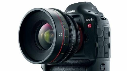 Canon oppgradering av EOS-1D C