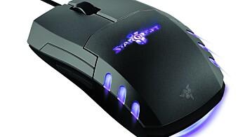 Razer StarCraft II-periferiutstyret
