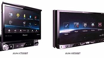 Pioneer AVH-X8500BT og AVH-X7500BT