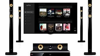 LG med Spotify på 2013-sortiment