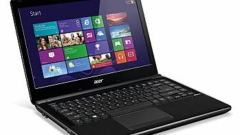 Acer Aspire V5- og E1-serie:
