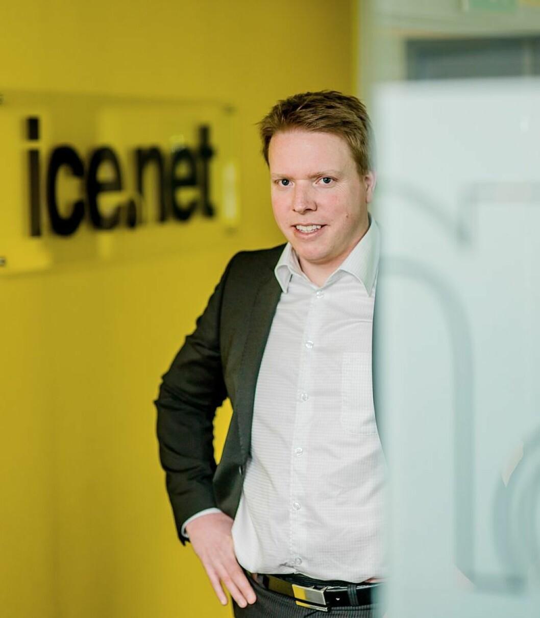 Eivind Helgaker, administrerende direktør i ice.net, vil gi kortterminaler ekstra sikkerhet for oppetid.