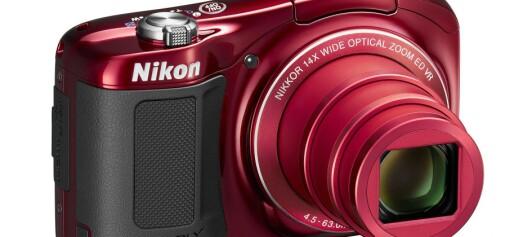 Nikon Coolpix S6600 og L620