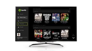 Philips Smart TV med Spotify, Cloud TV og Cloud Explorer