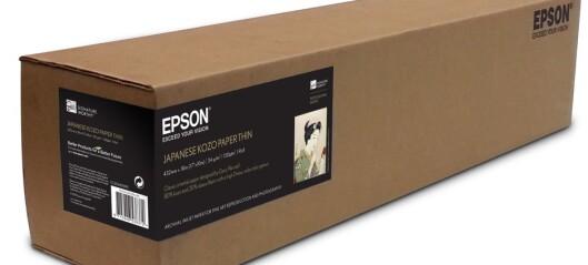 Epson Japanese Kozo Paper Thin