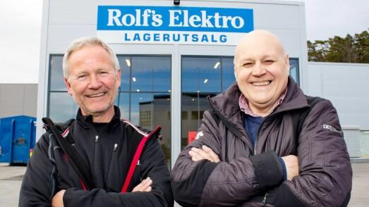 ROLF DEN BLIDE HAR GÅTT BORT