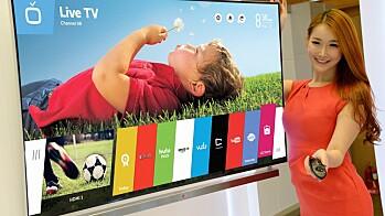 LG Smart-TV med WEBOS