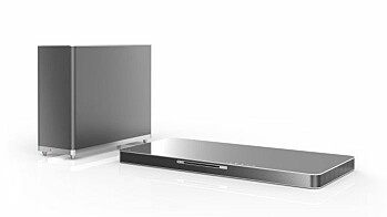 LG Soundbar, hjemmkino og lydplater