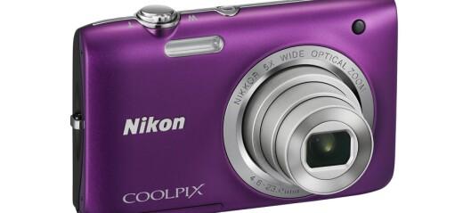 Nikon Coolpix S3600, S6700 og S2800