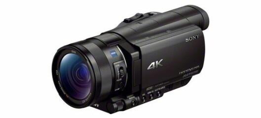 Sony 4K-videokamera og Handycam