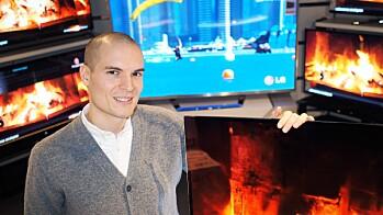 STØRRE, MEN FÆRRE TV-ER