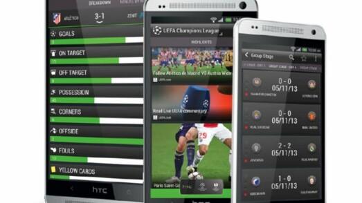 HTC FootballFeed