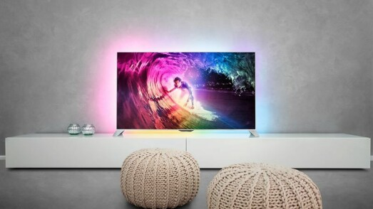 Philips Ambilight TV med Android