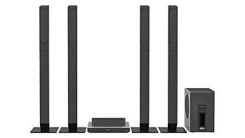 Panasonic SC-BTT885, SC-BTT865 og SC-BTT505