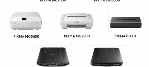 Canon PIXMA- og CanoScan