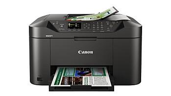 Canon skriverportefølje for småbedrifter og hjemmekontor