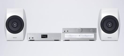 Panasonic Technics R1 og C700.
