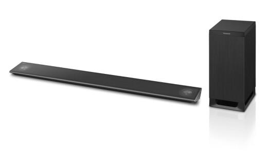 Panasonic ALL Soundbar og Speakerboard