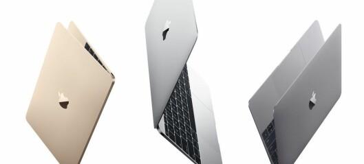 Nye MacBook