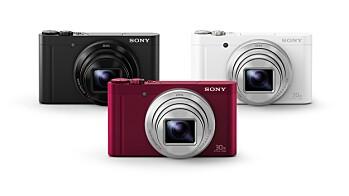 Sony Cyber-shot HX90V og WX500