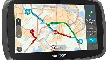 TomTom GO 510, 610, 5100 og 6100