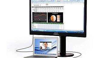Philips 221S6QUMB USB Docking LCD Monitor