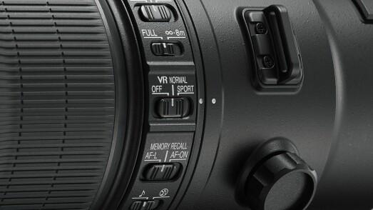 Nikon AF-S NIKKOR 600mm f/4E FL ED VR og 500mm f/4E FL ED VR