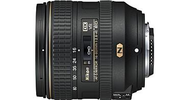 Nikon AF-S DX NIKKOR 16–80mm f/2.8–4E ED VR