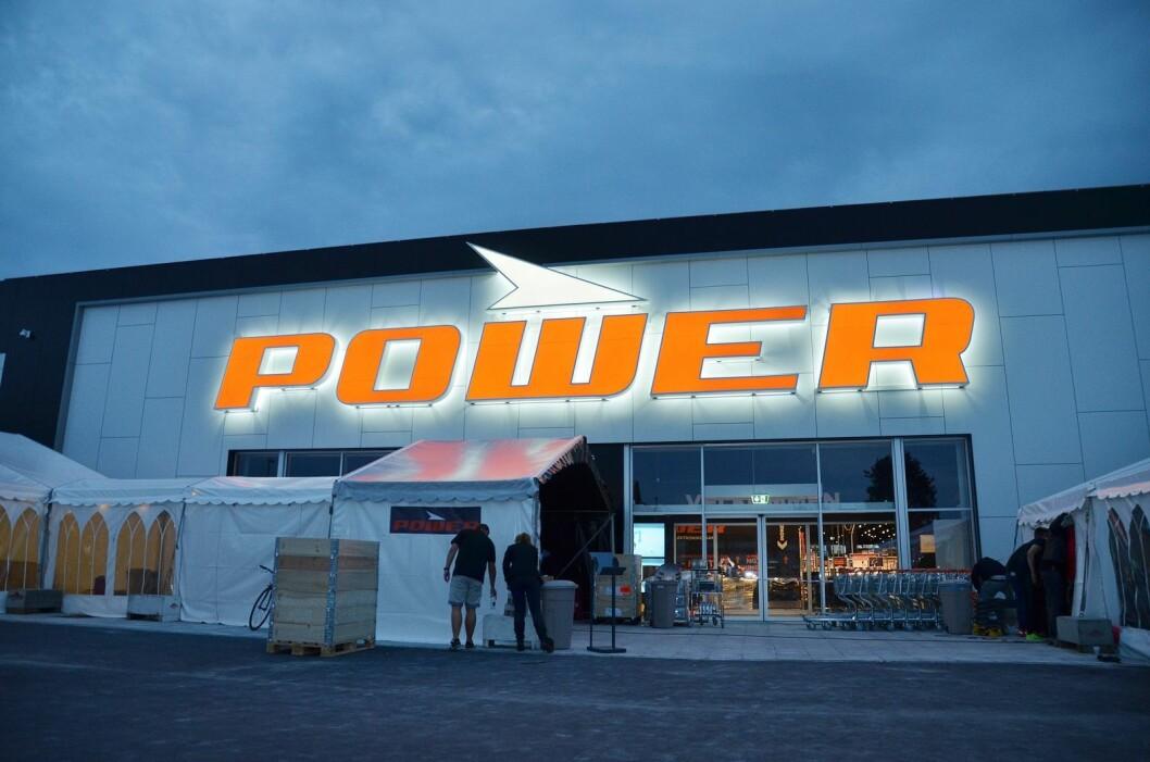 Power-butikkene i Danmark har samme sortiment som Expert i Norge. Foto: Expert/Power.
