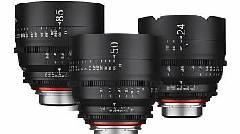 XEEN 24, 50 og 80 mm