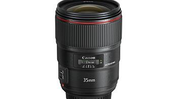Canons nye EF 35mm f/1.4L II USM
