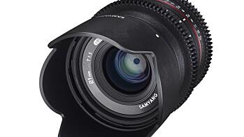 Samyang 21mm og 50mm