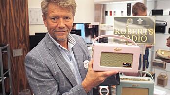 ROSA RADIO PÅ BRUN SAMLING