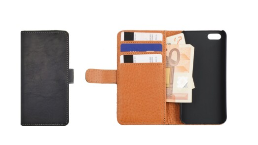 Essentials Leather Booklet Case