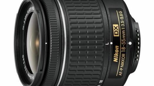 Nikon AF-P DX NIKKOR 18–55mm f/3.5–5.6G VR og  f/3.5–5.6G